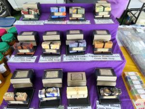 soap at Bargara Markets